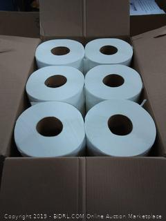 6 paper towel rolls