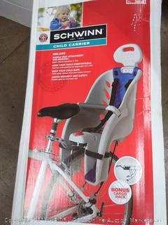 Schwinn child carrier Deluxe