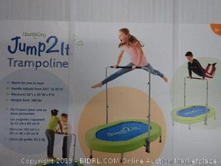 Jump2It Trampoline - Kids Trampoline Built for Two Jumpers READ