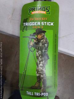 Jim Shockey trigger stick gen 3 tall tripod