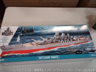 World of Warships Gobi block ship model