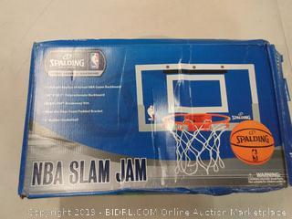 Spalding NBA slam jam bedroom basketball hoop