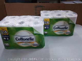 24 cottonelle rolls