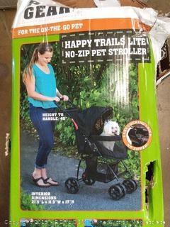 pet gear small to medium sized dog stroller