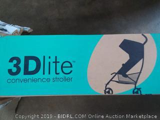 3D convenience stroller
