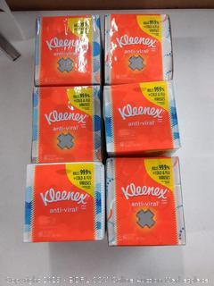 Kleenex Facial Tissues Antiviral 60.00 each Harris Teeter