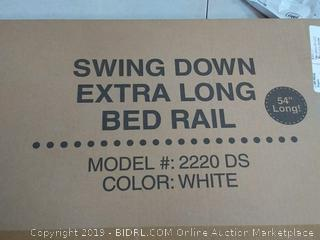 regalo swing down extra-long bedrail 54 inch along Age 2 to 5 years old