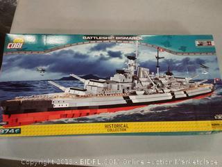 Battleship Bismarck - 'Historical Collection' - COBI 4810 - 1,974