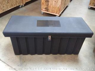 trailer star toolbox chest black 51 x 19.5 / 8 x 22