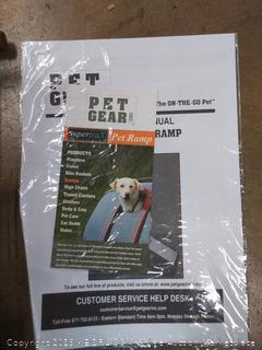 Pet Gear® PG9916CH - Combination Chocolate Pet Step/Ramp