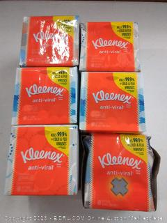 Kleenex anti viral tissues 6 packs