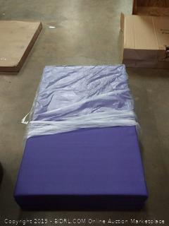 balance from regular gym mat purple (wallJ)