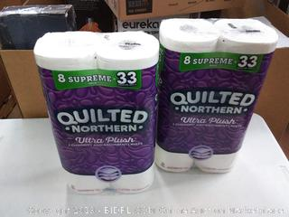 Quilted Northern Ultra Plush Supreme Toilet Paper, 2 8 packs