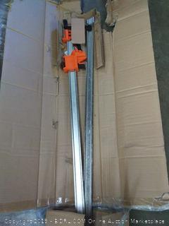 Jorgensen to pack medium duty steel bar clamp set 24 in(WallA)