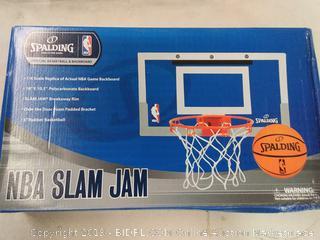 Spalding slam jam open the door mini basketball hoop