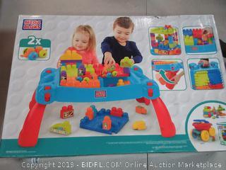 mega bloks 3 in 1 coffee table 30 pieces Mattel | Futurartshop