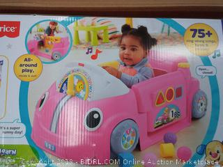 Fisher Price Laugh & Learn smart stages crawl around car