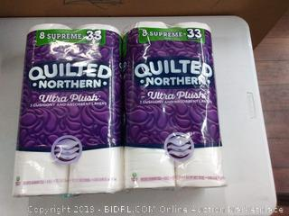 Quilted Northern Ultra Plush Supreme Toilet Paper, 16 Count