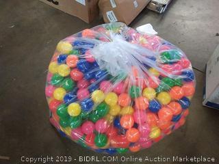 1000 piece multi colored play balls