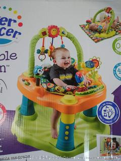 ExerSaucer double fun bouncy for child 0 to 4 months
