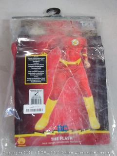 Rubie's DC Comics Deluxe Muscle Chest The Flash Child's Costume, Toddler