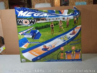 Wow Sports Mega slide 25 ft by 6 ft heavy duty(Factory Sealed/Box Damage) COME PREVIEW!!!! (online $90)