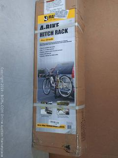 MaxxHaul (70210) 4-Bike Deluxe Hitch Mount Rack(Factory Sealed) COME PREVIEW!!!! (online $63)