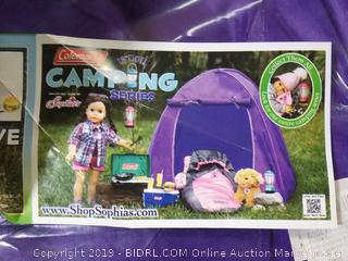 Coleman 18 in doll camping tent