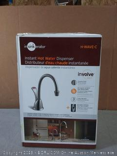 InSinkErator Instant Hot Water Dispenser 1-Handle System(Factory Sealed/Box Damage) COME PREVIEW!!!! (online $295)