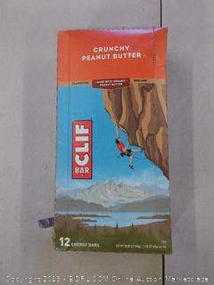 Cliff bar 12 energy bars crunchy peanut butter
