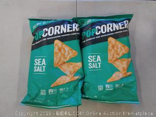 Popcorners Sea Salt 2 BAGS