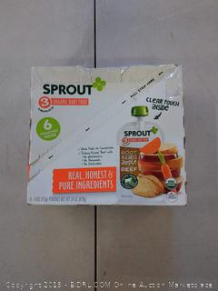 Sprout Organic Foods Root Vegetables & Apple Baby Food with