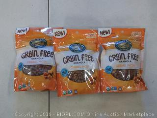 Natures Path Organic Grain Free Granola Caramel Pecan 3 Pack
