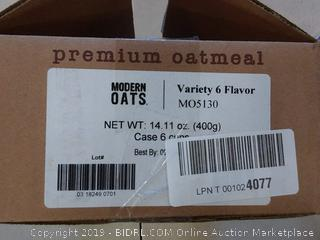 Modern Oats Variety 6 flavor 6 cups