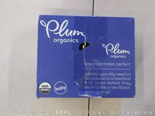Plum Organics Pear Spinach Pea 6 pouches