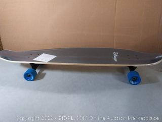 retrospect Zed bamboo longboard (online $60)