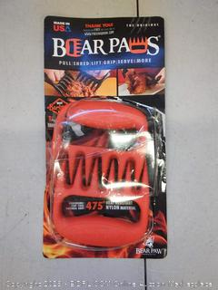 Bear paws for pulling, shredding, lifting, gripping, serving and more