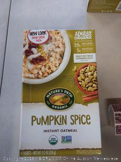 pumpkin spice instant oatmeal packet 3