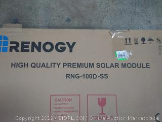 rennology high quality premium solar module