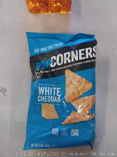 PopCorners white cheddar corn snack pack of 2