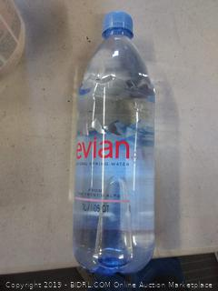 Evian water 1 liter bottle pack of 12