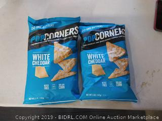 PopCorners white cheddar potato chips pack of 2