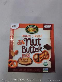 Nature's Path pretzel and peanut bars pack of 3