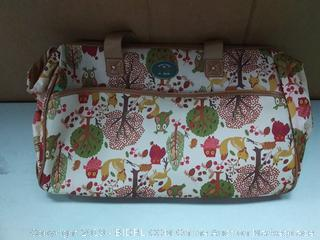 Lily Bloom Forest Owl Travel Tote Bag (online $69)
