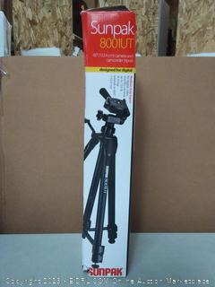 Sunpak 620-080 Tripod with 3-Way Pan Head (620-080) - Solid Signal