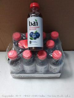 Bai antioxidant infusion drink Brasilia blueberry