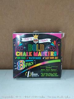 crafty Crown bold chalk markers