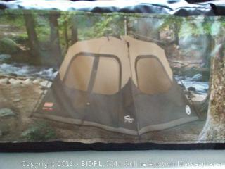 Coleman 6-Person Cabin Tent with Instant Setup Cabin Tent for Camping Sets Up in 60 Seconds (online $135)