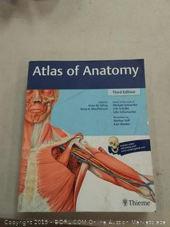atlas of anatomy 3rd Edition softcover