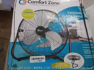 comfort zone 12 inch high velocity fan